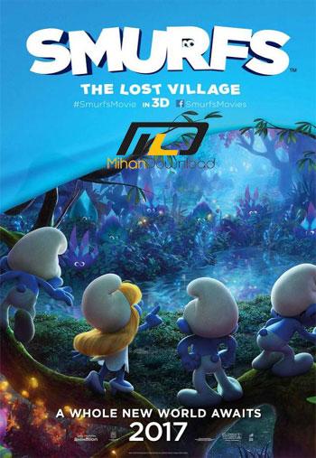 smurfs دانلود انیمیشن Smurfs The Lost Village 2017
