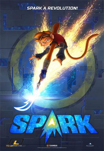 spark دانلود انیمیشن Spark A Space Tail 2016