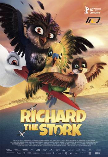 stork e دانلود انیمیشنA Storks Journey 2017 سفر یک لک لک