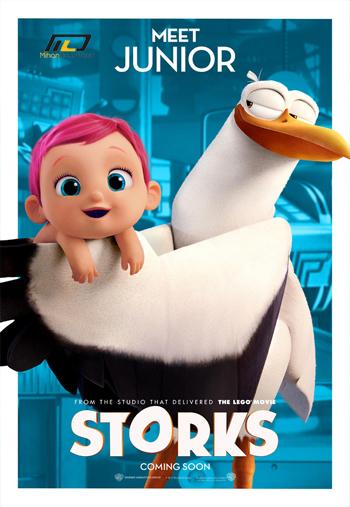دانلود انیمیشن لک لک ها  Storks 2016
