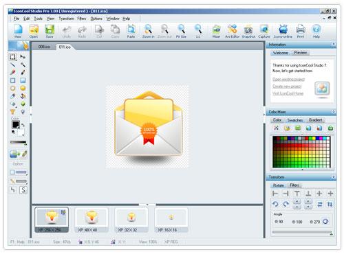 studio 1 دانلود IconCool Studio Pro 8.20 Build 140222 نرم افزار طراحی آیکون