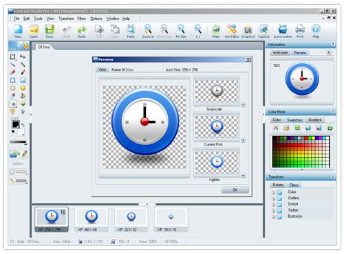 studio 10 دانلود IconCool Studio Pro 8.20 Build 140222 نرم افزار طراحی آیکون