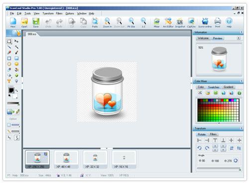 studio 2 دانلود IconCool Studio Pro 8.20 Build 140222 نرم افزار طراحی آیکون
