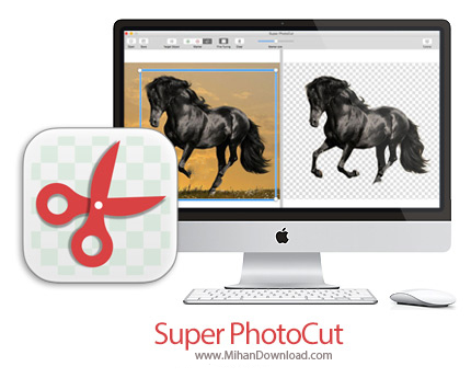 super photocut icon دانلود Super PhotoCut نرم افزار جدا کردن قسمتی از عکس در مک