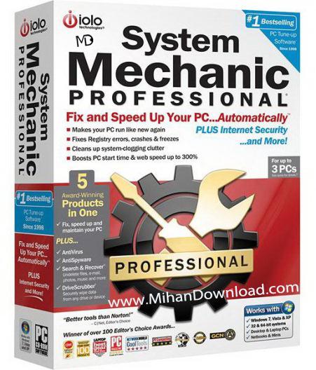 system mechanic professional 11 0 5 2 180912 دانلود System Mechanic Professional 11.1.6.1  نرم افزار بهینه سازی سیستم
