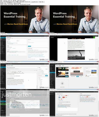 th TMuYGhpRMi3zsuteszE6cD3Bs74zdfK6 دانلود آموزش کامل کار با سیستم مدیریت محتوای وردپرس WordPress Essential Training