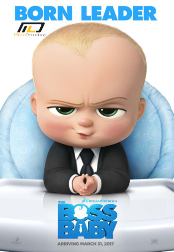 the boss baby teaser poster دانلود انیمیشن The Boss Baby 2017