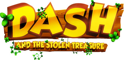 title دانلود بازی کم حجم داش و گنج دزدیده شده Dash and the Stolen Treasure