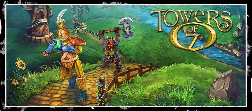 title toz دانلود بازی دفاع از قلعه Towers of Oz برای کامپیوتر