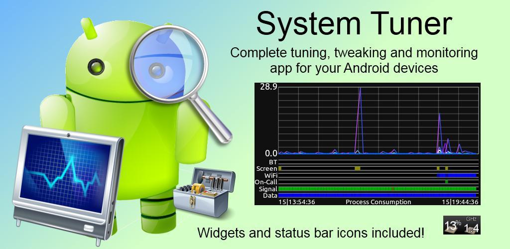 tuner  دانلود نرم افزار مدیریت دستگاه System Tuner Pro 3.8.0 اندروید