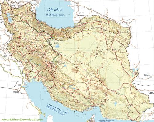 url14 دانلود نقشه راه های ایران اپدیت جدید 93