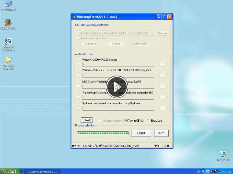 usb کلیپ آموزش ساخت فلش دیسک قابل بوت برای نصب ویندوز