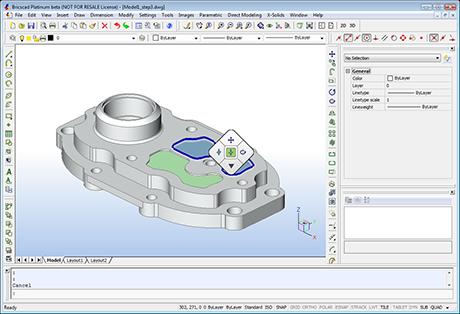 v12 460 دانلود نرم افزار نقشه کشی BricsCad Platinum 16.2.09