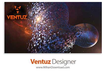 ventuz دانلود Ventuz Designer نرم افزار طراحی محیط سه بعدی