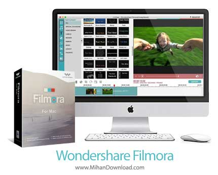 wondershare filmora دانلود Wondershare Filmora نرم افزار ویرایشگر ویدیو برای مک