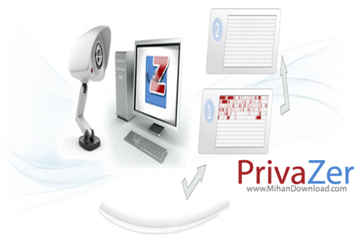 zar دانلود نرم افزار افزایش سرعت سیستم PrivaZer v2 13