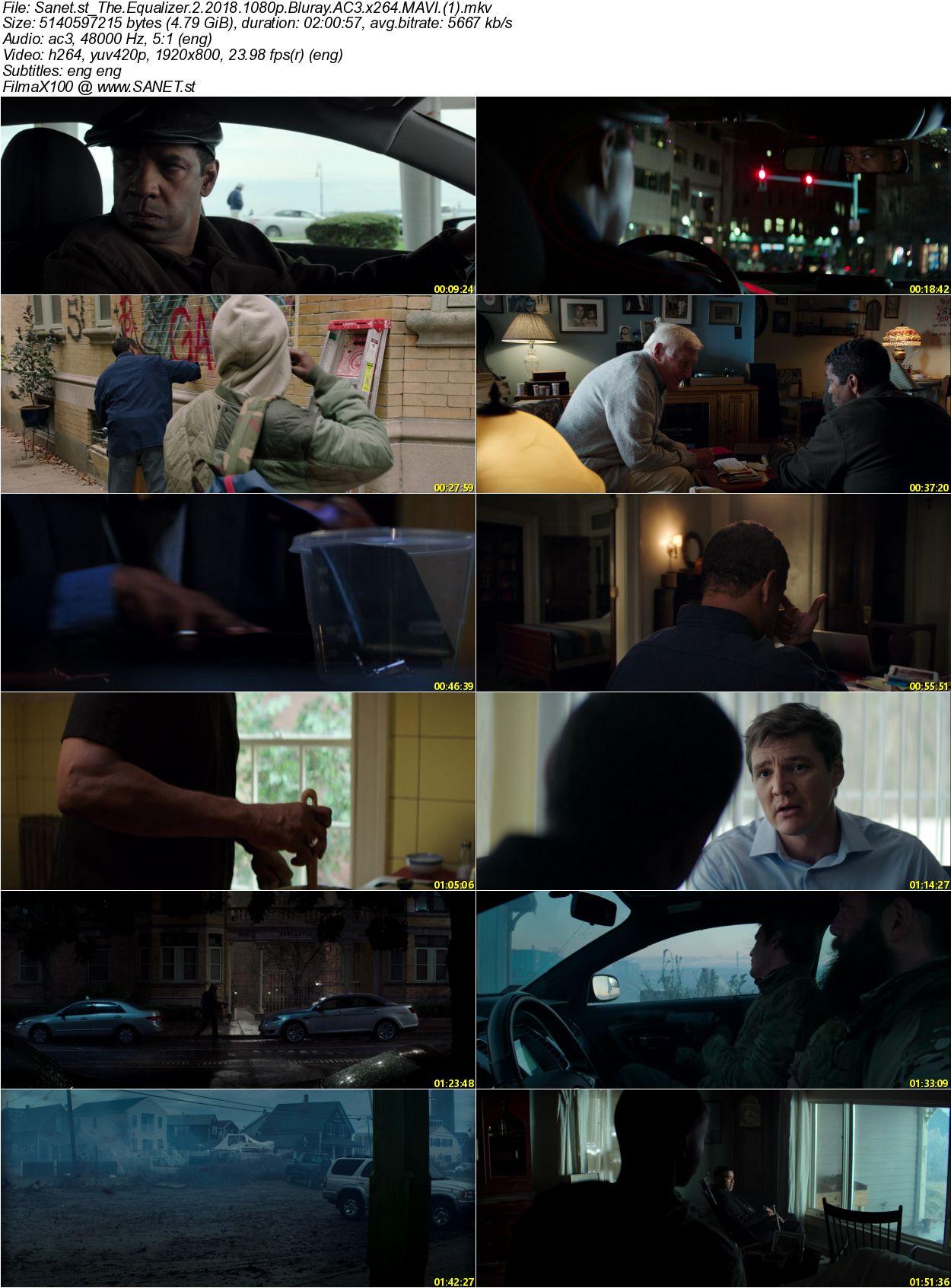 The Equalizer 2 2018 2 دانلود فیلم دیدنی و جذاب اکولایزر 2 با دوبله فارسی