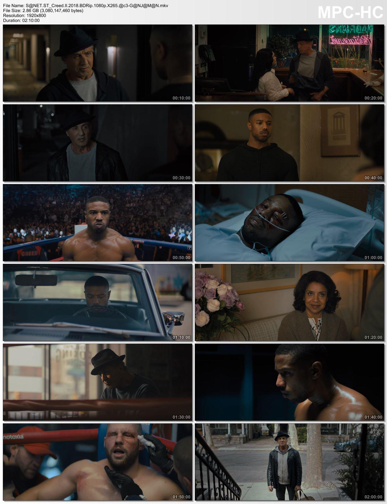Creed II 2018 2 دانلود فیلم دیدنی و جذاب کرید 2 با دوبله فارسی