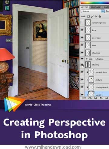 آموزش پرسپکتیو در فوتوشاپ - Creating Perspective in Photoshop