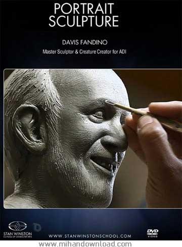 آموزش حرفه ای پیکر تراشی - Portrait Sculpture with David Fandino