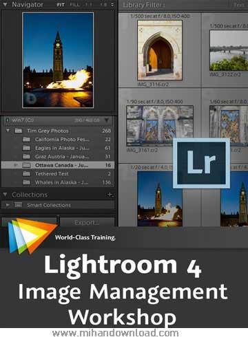 آموزش نرم افزار لایت روم - Lightroom 4 Image Management Workshop