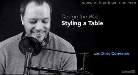 آموزش طراحی جدول برای سایت