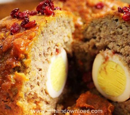 آموزش آشپزی ایرانی کوفته برنجی