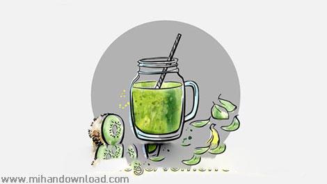 آموزش کاهش وزن با آبمیوه و شربت میوه ای در عرض ۵ روز