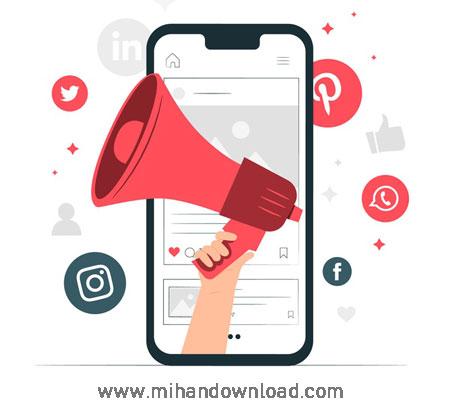 آموزش بازاریابی رسانه اجتماعی و اصول B2B