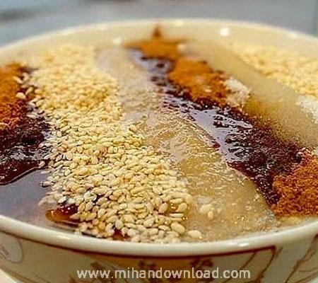 آشپزی ایرانی حلیم بوقلمون