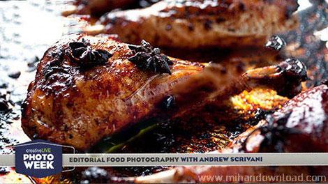 آموزش عکس برداری از غذاها