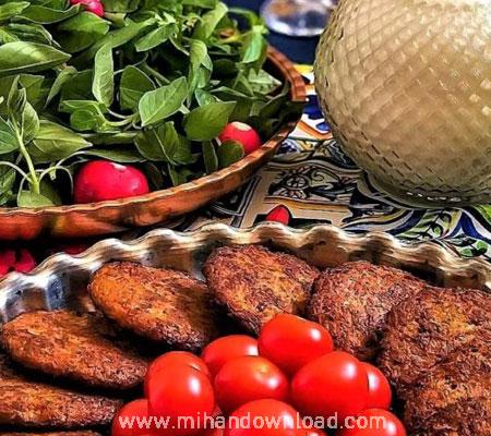 آموزش آشپزی ایرانی کتلت ایرانی