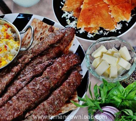 آموزش آشپزی ایرانی کباب کوبیده حرفه ای
