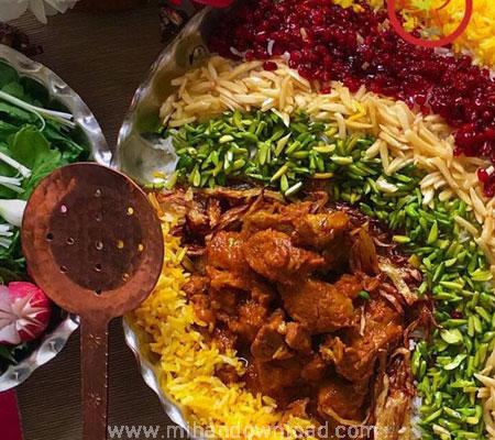 آموزش غذای ایرانی قیمه نثار