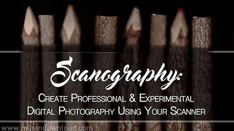 آموزش عکاسی دیجیتال با استفاده از اسکنر