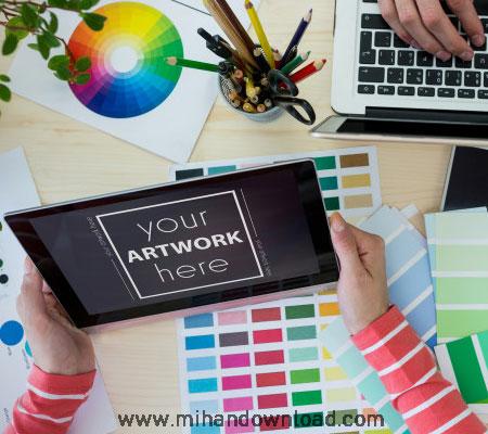 آموزش هنر رنگ در کار طراحی