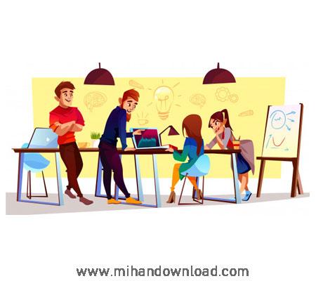 آموزش انیمیشن های ویدئویی در پاورپوینت