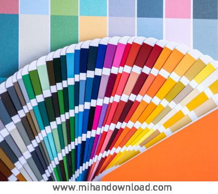 آموزش استفاده خلاقانه از رنگ ها