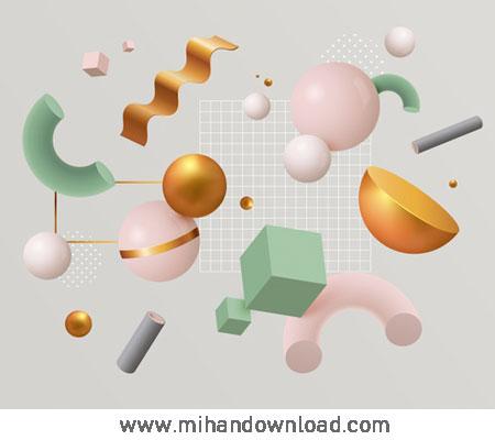 آموزش طراحی سه بعدی و موکاپ برای محصولات دیجیتالی
