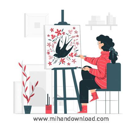آموزش اصول نقاشی حرفه ای