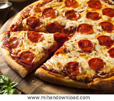 آموزش پیتزا پپرونی