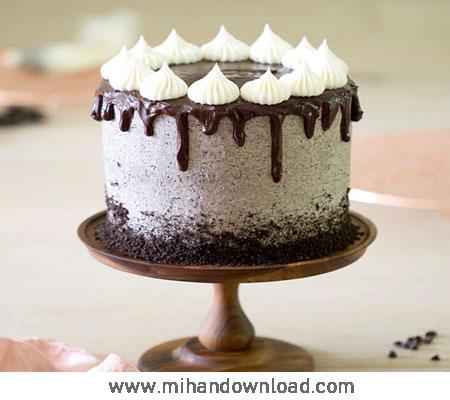 آموزش طرز تهیه کیک خامه ای شکلاتی