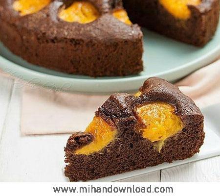 آموزش طرز تهیه کیک زرد آلو یک عصرانه اسان و خوشمزه