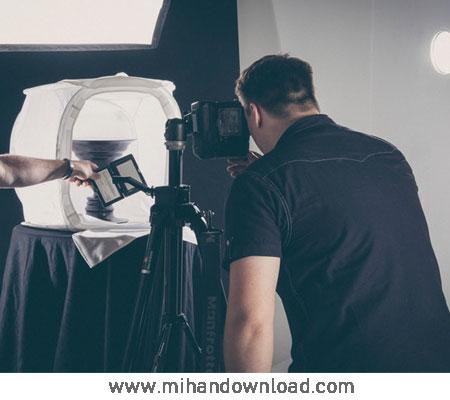 آموزش عکاسی صنعتی خیمه عکاسی