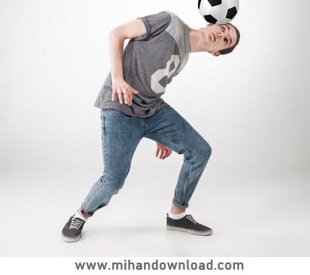 آموزش تمرین فوتبال بامانع