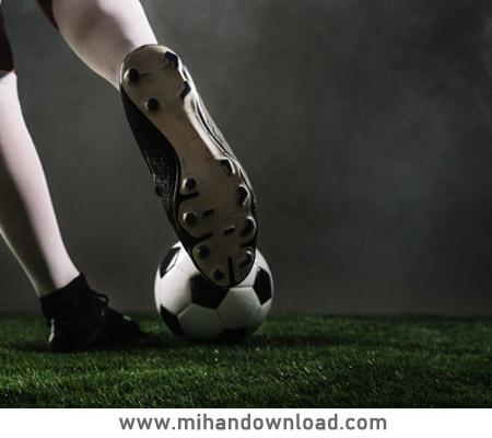 آموزش حمل توپ در فوتبال