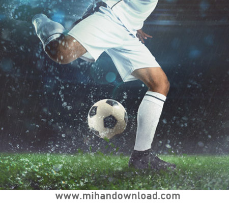 آموزش دریبل، شوت و لمس توپ فوتبال کودکان