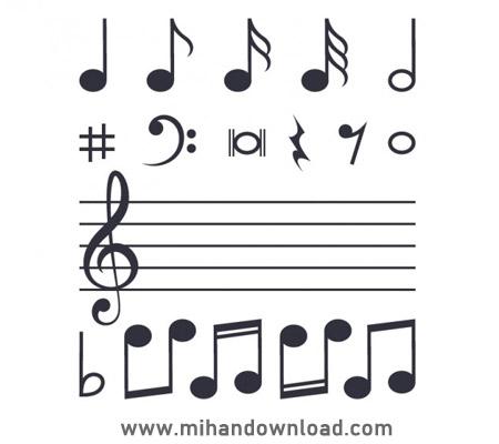 آموزش کامل نت های موسیقی