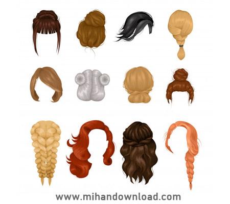 آموزش حرفه ای جدا کردن مو در فتوشاپ (موهای پیچیده)