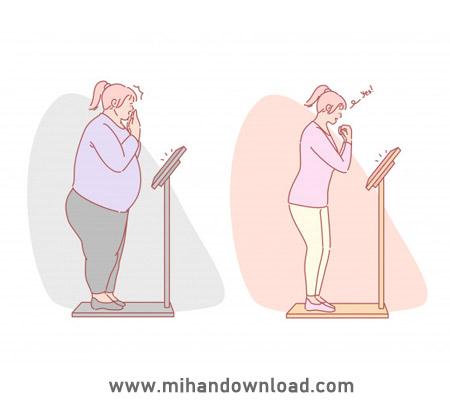 آموزش کاهش وزن - دکتر ادیب